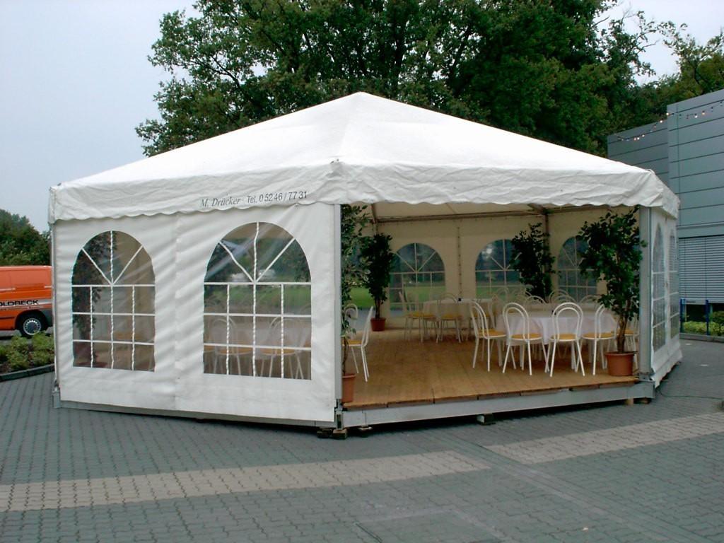 gebrauchte pagode pavillon r der 8 eck 10m. Black Bedroom Furniture Sets. Home Design Ideas