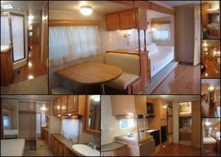 zu verkaufen usa wohnwagen mit kinderzimmer. Black Bedroom Furniture Sets. Home Design Ideas