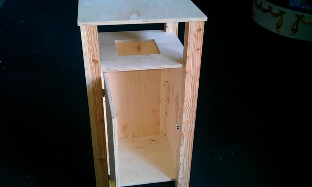 sonderangebot holz m lleimer. Black Bedroom Furniture Sets. Home Design Ideas