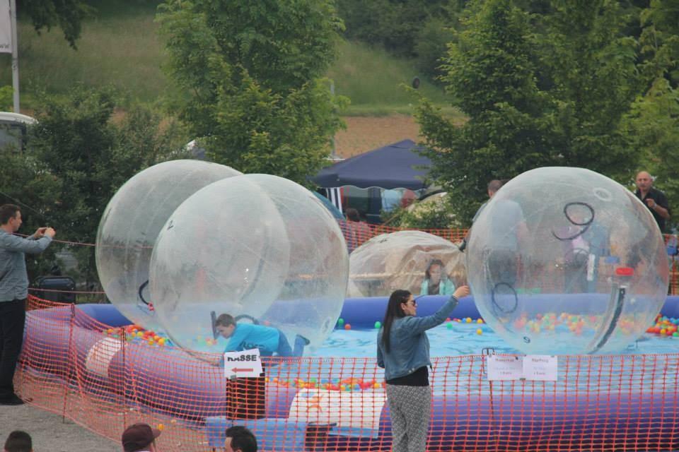 Pool aufblasbare 8x12x0 5m inkl 6x wasserb llen for Aufblasbare pools im angebot