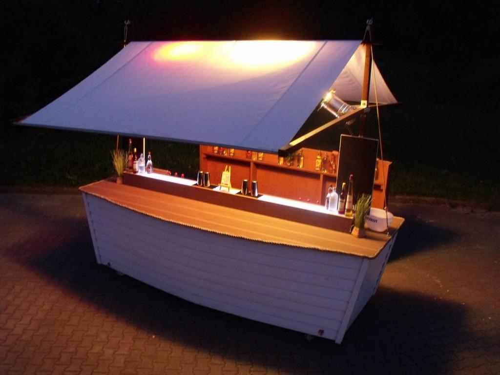 Cocktailbar schiffsbar mobile bar - Cocktailbar selber bauen ...